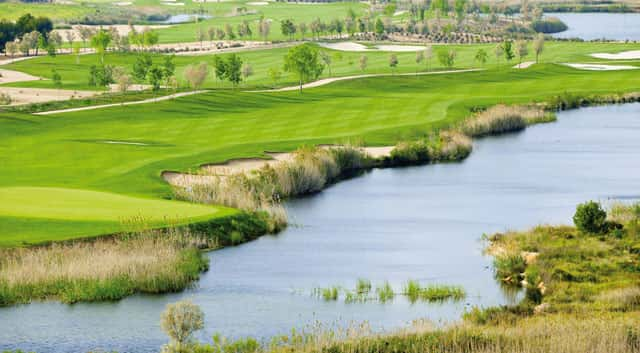 The Lakes Course at Lumine Golf Club, Costa Dorada