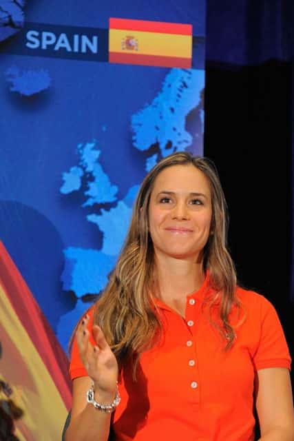 LPGA – Azahara Muñoz, Spanish Image for the International