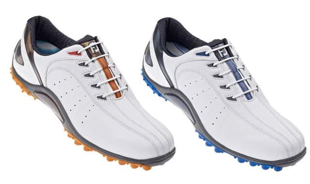 New FJ Sport Spikeless golf shoe