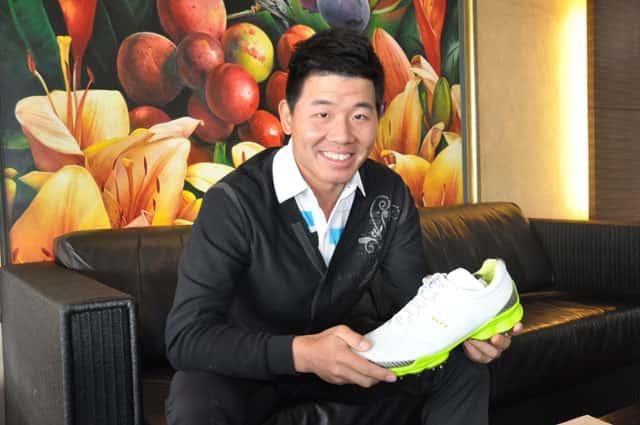 Ecco Golf Chinese Star Wu Ashun Signs Mygolfway