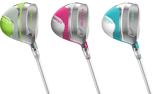 Cobra Golf - New Women's AMP Cell fairway Woods, matching