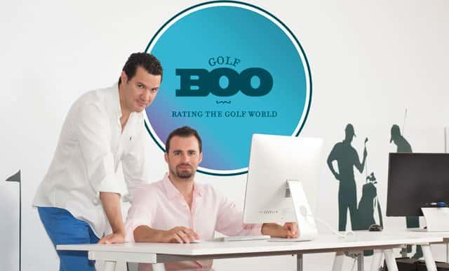 GOLFBOO Co-Founders, Fabio Peral and Antonio Conde
