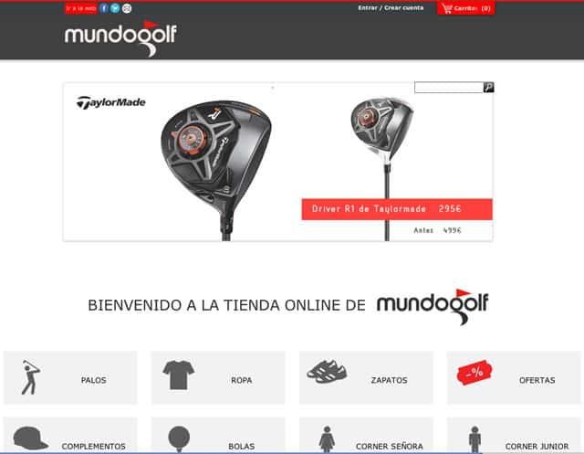 3480499ec2920 MundoGolf - The Barcelona golf boutique starts a new online shop ...