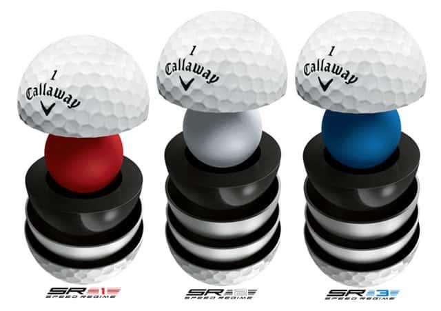 Callaway golf speed regime a tour ball for each