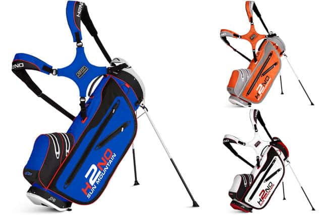 Sun Mountain Launch Of The New Premium H2no Waterproof Stand Bags