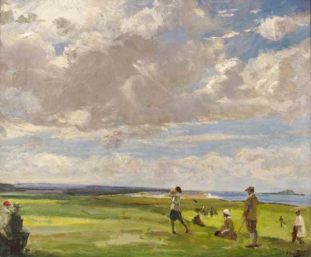 Lavery_North-Berwick-art-of-golf