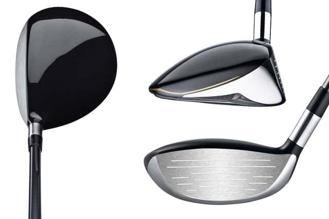 Golf Club Driver Head low in the club head for a