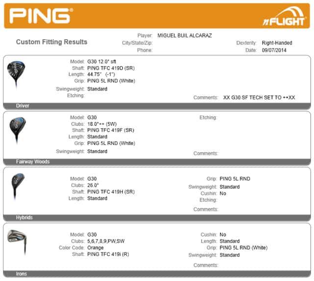 Ping Probamos Los Nuevos G30 En El Custom Fitting Centre