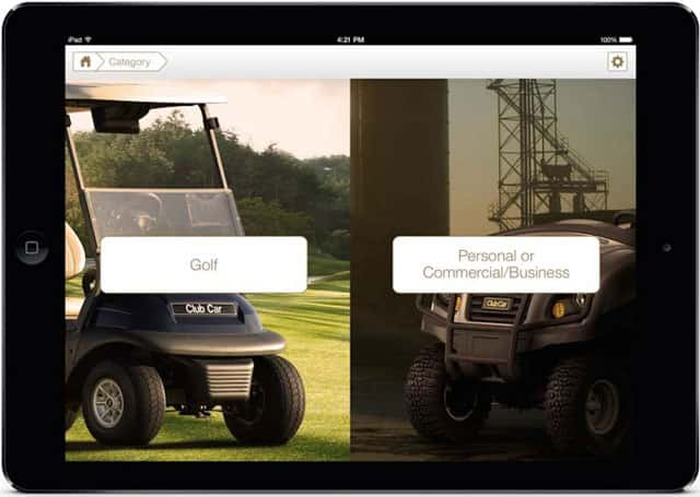 Club Car Customers Can Benefit From Revolutionary Sales Tool App