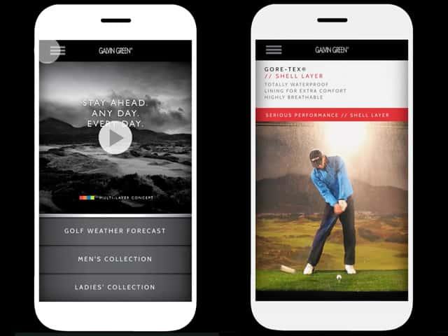 golf weather app