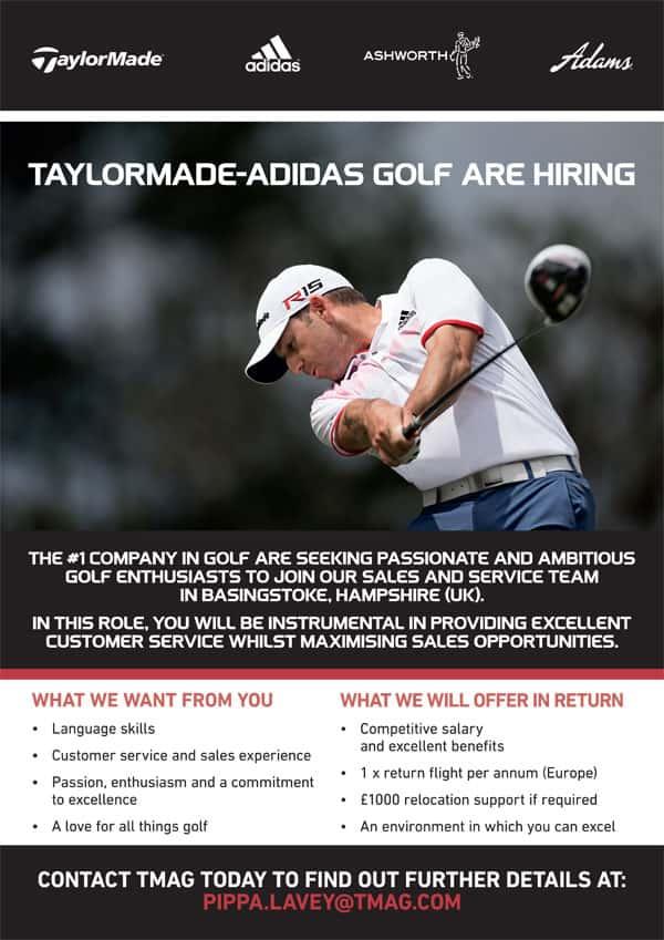 TaylorMade-adidas Golf – Seeking talents for job opportunities ...
