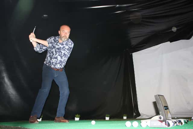 Test experimentamos el ball fitting de wilson golf en
