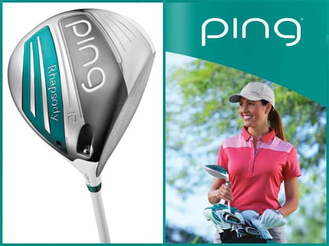 Ping Rhapsody Lady S Driver Helps Maximize Speed And Distance In Style Mygolfway Plataforma Online Del Sector Del Golf Online Platform Of Golf Industry