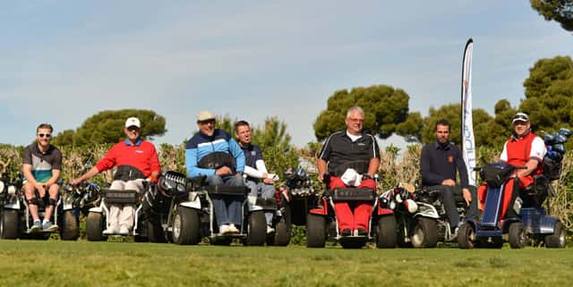 Adaptive Golf: Accessible Greens for All - SPINALpedia.com Blog on golf players, golf accessories, golf hitting nets, golf girls, golf trolley, golf cartoons, golf card, golf buggy, golf tools, golf handicap, golf machine, golf words, golf games,