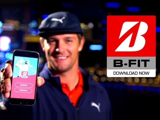 Bridgestone golf the bfit ball fitting launch