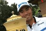 Srixon – La bolsa de palos de Hideki Matsuyama para ganar el WGC-Bridgestone Invitational