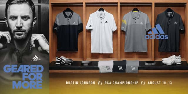 polo adidas dustin johnson
