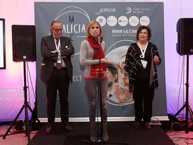 Ferias presentaci n internacional de galicia mice en la for Ferias barcelona hoy