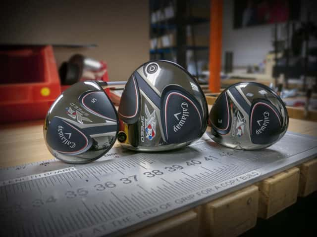 Callaway Golf New Xr Speed Driver And Fairway Woods Fast Just Got