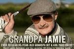 #MyGolfGuay – El abuelo Jamie pega drives de 400 yardas ante el asombro de los aficionados