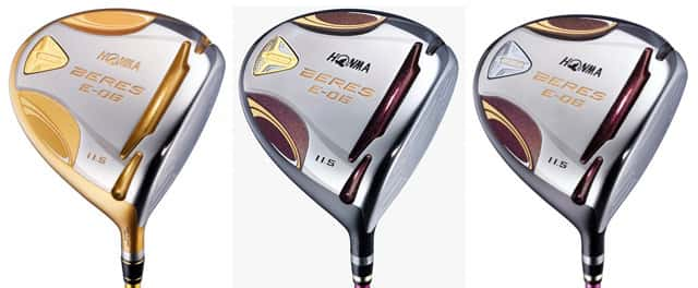 Honma Golf - The new clubs E-06, jewels designed to adapt to the