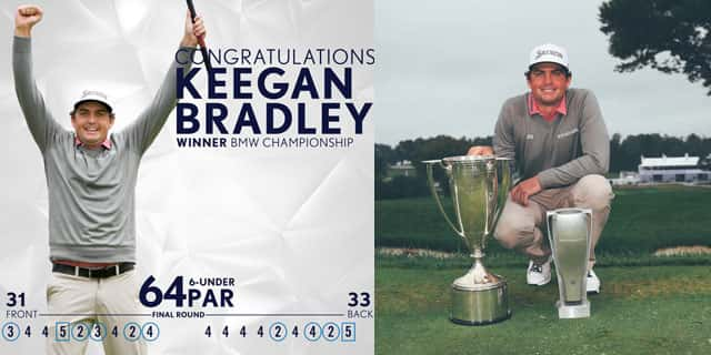 f761cc97078 In Keegan Bradley s Bag  Golf ball  Srixon Z-STAR XV golf ball. Hybrid   Srixon Z U45 3i – Nippon Modus Tour 120 X Irons  Srixon Z 745 irons (4-9)