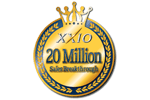 XXIO – XXIO golf club series shipped a total of over 20 million