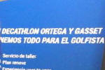 Decathlon – El potente simulador GCQuad realza la nueva sección de golf de Decathlon Ortega y Gasset
