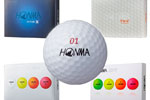 GUÍA DE BOLAS – Toda la gama HONMA GOLF 2019, con la FUTURE XX, la única bola de 6 piezas del mercado