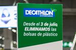 Decathlon – Sin bolsas de plástico a partir del próximo 3 de Julio en todas sus tiendas de deportes en España