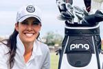 PING – Fichaje de Tania Tare, famosa influencer y artista de trucos de golf en las redes sociales