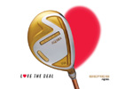 HONMA Golf – BERES Valentine's Day Promotion, golf clubs to love