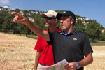 La Sella Golf – José María Olazábal supervisa las obras agronómicas del recorrido Gregal