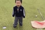 #MyGolfGuay – How would you feel missing a putt as a toddler… see this VIDEO