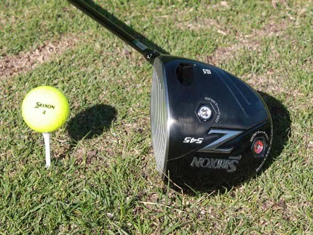 Pre-Owned Srixon Golf Z545 Driver 10.5* Stiff Driver [Mitsubishi Kuro Kage 60 Graphite] *Very Good