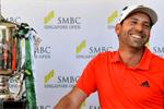 Callaway Golf – Sergio García se vuelve a cruzar con la victoria, estrenando el driver Rogue Sub Zero en Singapur