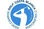ACGCBCV – La Asociación de Campos de Golf de la Costa Blanca renueva su logotipo
