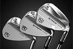 Wilson Golf – Launch of the new Wilson Tour Grind wedges, designed for greenside precision
