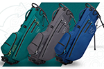 Wilson Golf – Nuevas bolsas Wilson Staff ECO con trípode, fabricadas con más de 50 botellas de agua recicladas