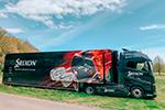Srixon – Renovación del camión de asistencia a los golfistas profesionales del European Tour